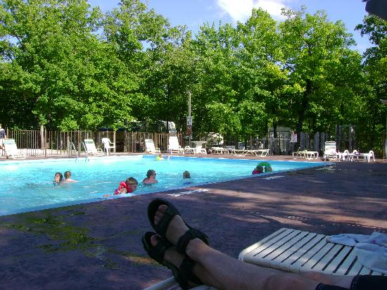 Silver Dollar City's Wilderness: Pool