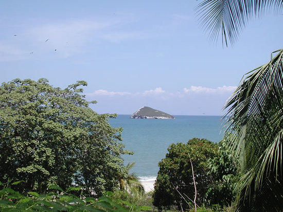 Las Sirenas de Santa Clara - Beach Front Cabins : View from your terrace