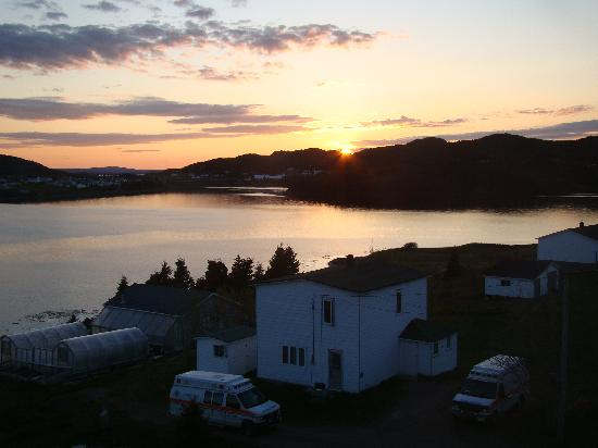 Burin, Kanada: watching the sun set