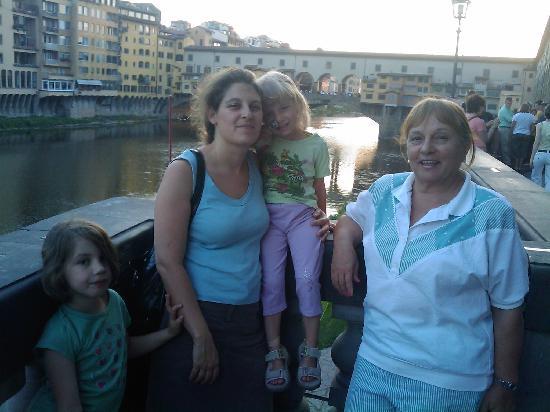 เบดแอนด์เบรคฟาสต์ ปิอัซซ่าเดลดูโอโม่: Ponte Vecchio al tramonto