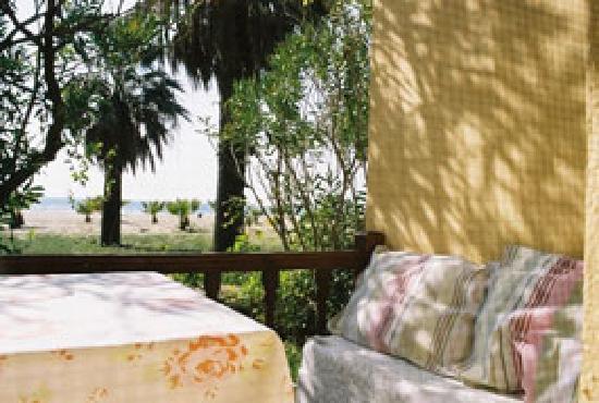 Dereli Motel: Zimmer Terrassse mit Meerblick