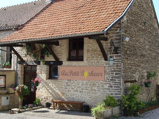 Hotel Le Manasses : restaurant 'au petit bonheur'