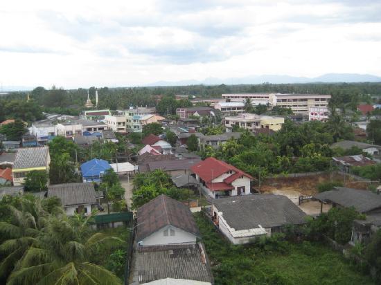 Narathiwat, Thailand: 部屋からの眺望