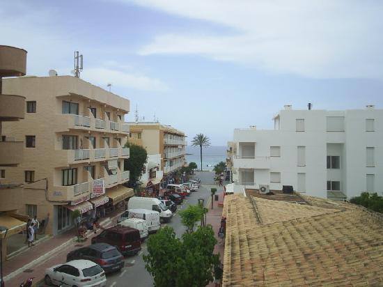 Hotel Voramar: vista