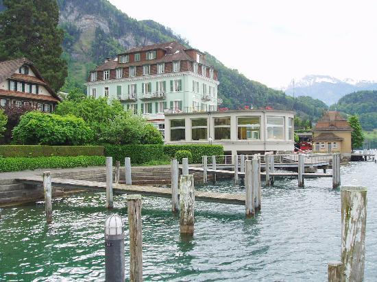 วิตซ์โน, สวิตเซอร์แลนด์: Hotel Terrasse Vitznau