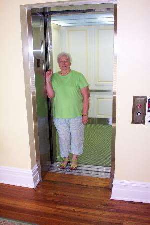 Gasparilla Inn & Club: Seems like old times - in new elevator