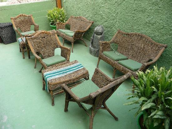 Hotel Mayab: Communal seating area