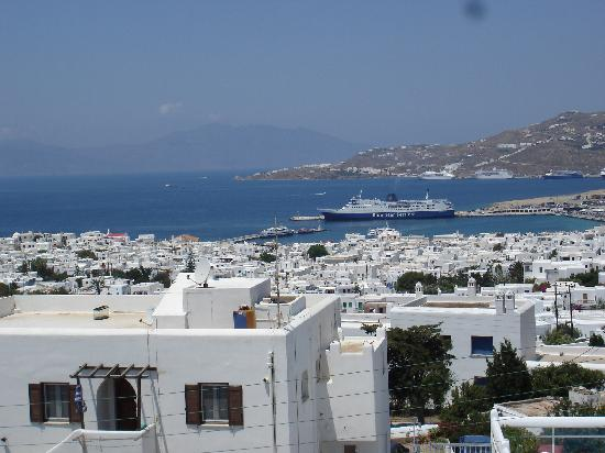 Nazos Hotel: view from the hotel