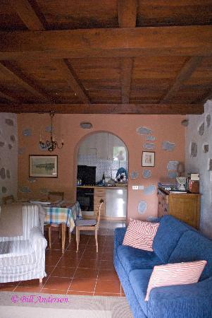 Borgo della Madonnina: La Stalla downstairs interior