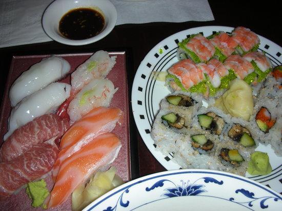 Blue Ocean Japanese Restaurant: Great sushi!!