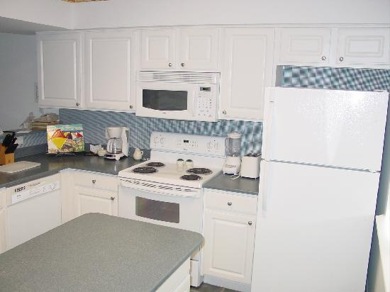 Holiday Inn Club Vacations Panama City Beach Resort: Kitchen
