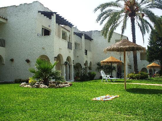 Rio Marinas Apartamentos: jardines de los apartamentos