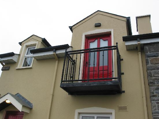 Atlantic View Cottages: Balcony of Cottage