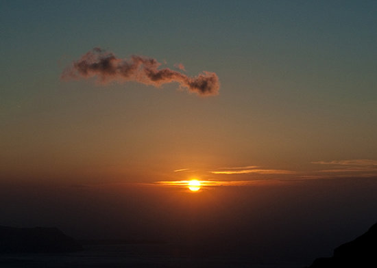 سانتوريني, اليونان: Santorini - Sunset