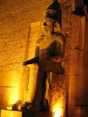 Luxor-Tempel: Luxor Temple at night