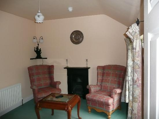 Carriglea House: Our sitting room