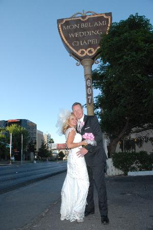 Monbelami Wedding Chapel: Las Vegas Strip