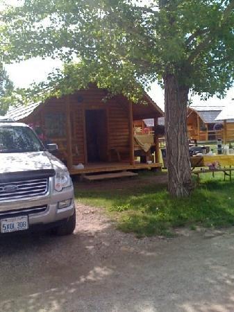 Bear Lake/Garden City KOA Campground : our cabin