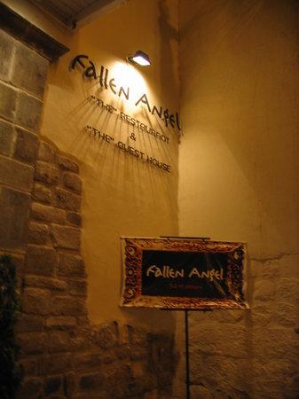 Fallen Angel: Entrance to Restaurant