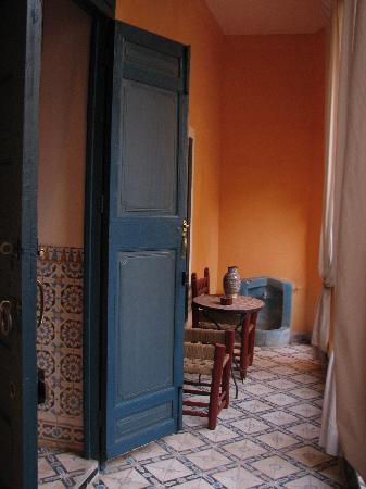 Riad el Filali: on the first floor