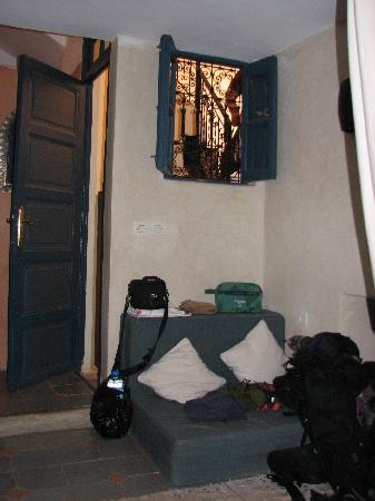 Riad el Filali: room nomade