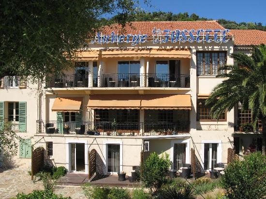 Hotel de la Fossette : Hotel côté mer