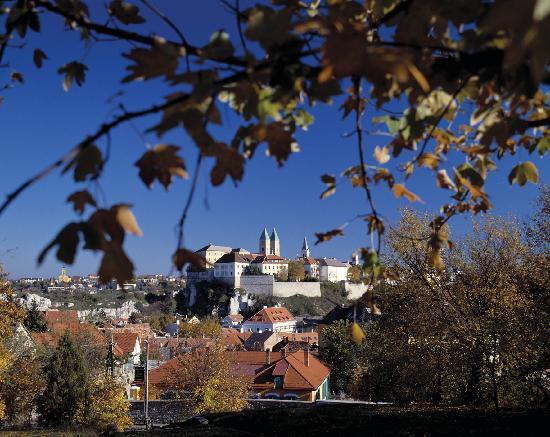 Veszprem County, Hungary: View of Veszprém