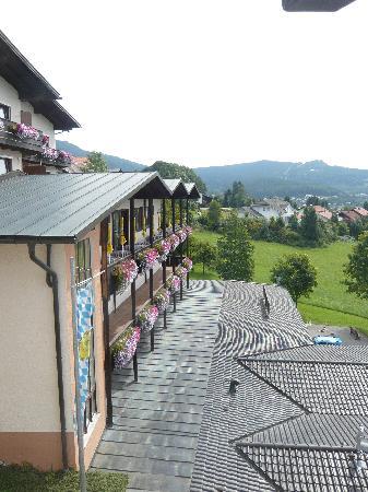 Bodenmais, Allemagne : Blick vom Zimmer