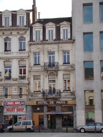 Saint-Gilles, België: Hotel de Paris