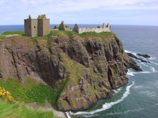 Stonehaven, UK: dunnottar castle / june 2009