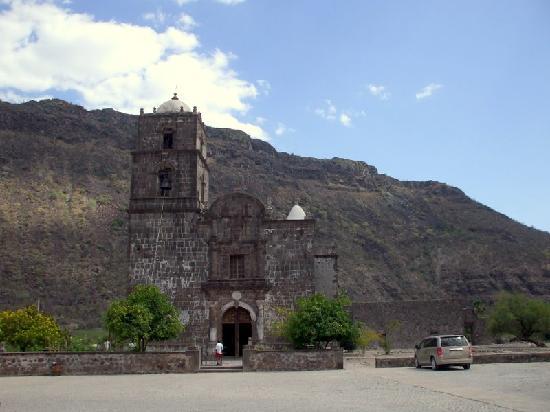 باجا كاليفورنيا, المكسيك: Esta es la Misión de San Javier, la 2a.de la Baja California