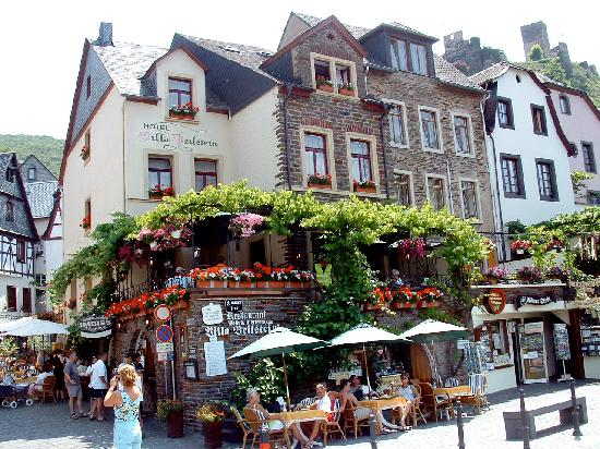 Beilstein as you arrive Picture of Hotel Haus Lipmann