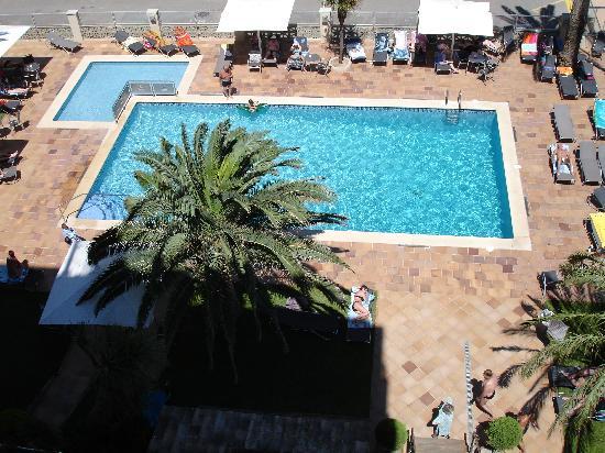 Hotel Monterrey : Vue de la chambre