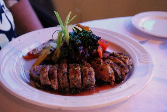 Kerstin's Restaurant: Entree-lamb tenderloin