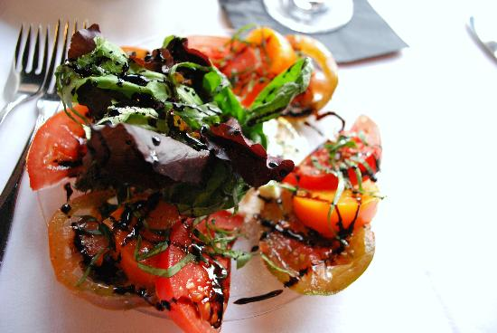 Kerstin's Restaurant: Heirloom tomato salad