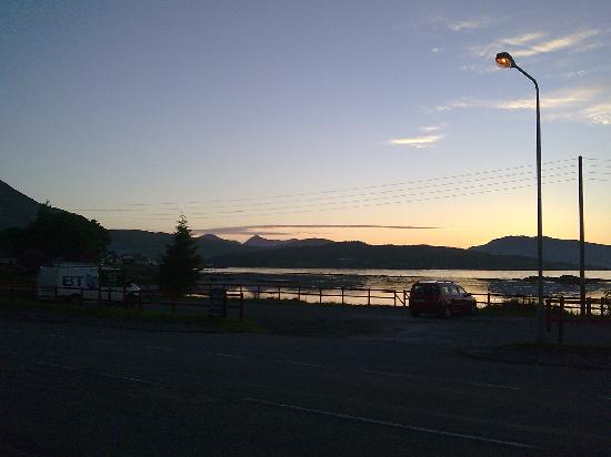 Hebridean Hotel: the view at sunset