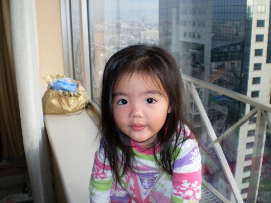 Savoy Hotel Seoul: 娘も快適な寝起き