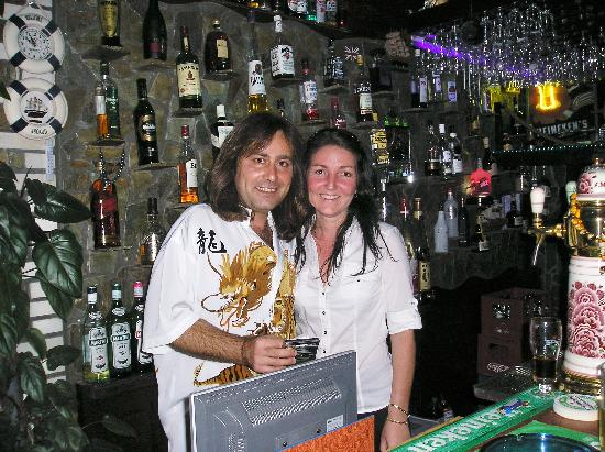 The Galley Bar : George & Jackie