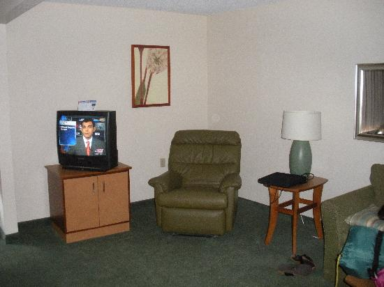 Extended Stay America - San Antonio - Colonnade : Living room