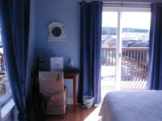The Inn at Fisherman's Cove: Blue Heron Room