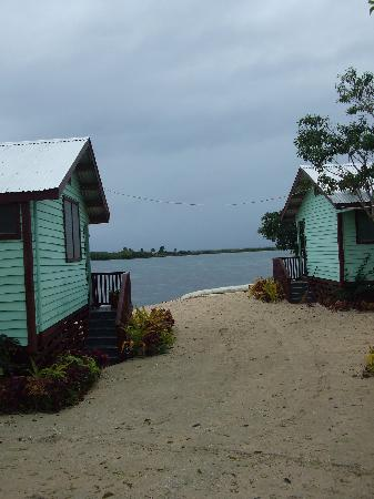Bayview Resort: Looking towards the lagoon