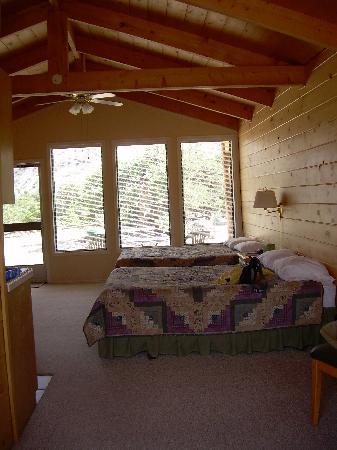 Pine Shadows Cabins: spacious room