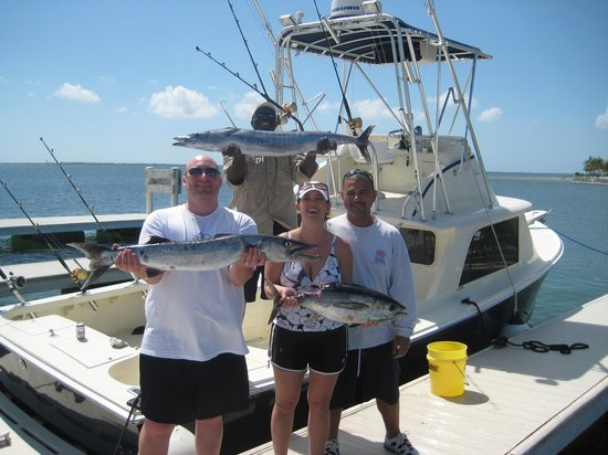 Catch of the day picture of reelesea charters grand for Grand cayman fishing