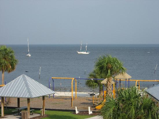 Park Place in Cedar Key: View from our condo
