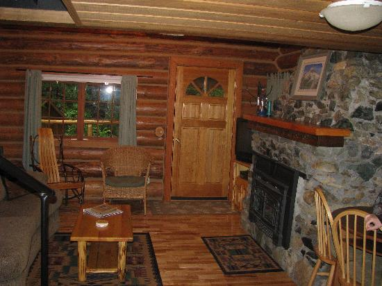 Deep Forest Cabins at Mt. Rainier : living room