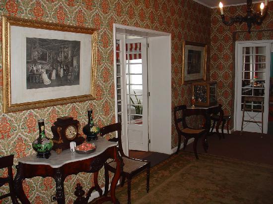 Casa Vitoriana: second floor corridor