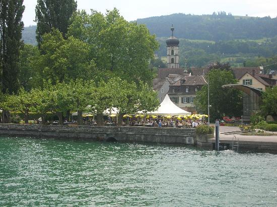 herrliches Gartenrestaurant am See in Rorschach