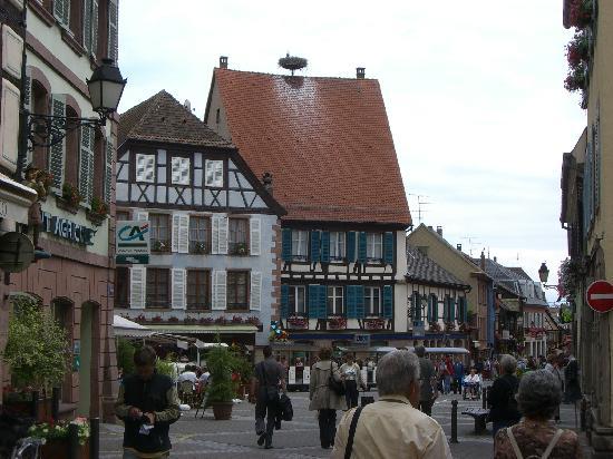 Hotel de la Tour - Ribeauville: Typical Restaurant