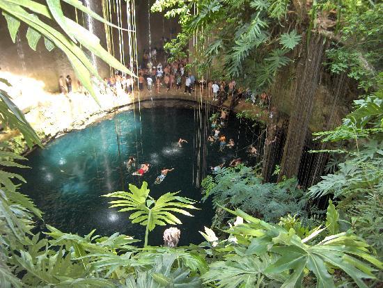 Чичен-Ица: Cenote Ik Kil
