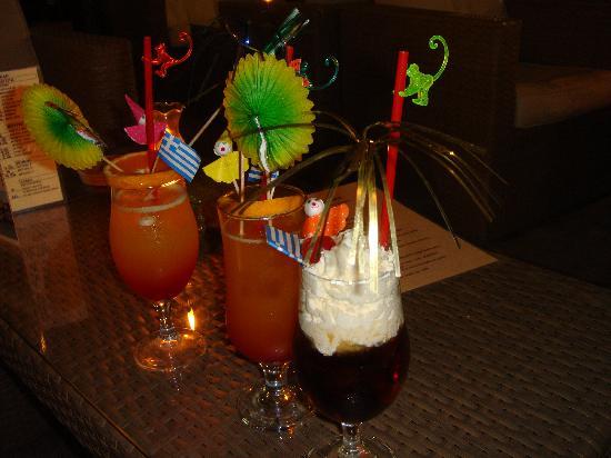 Gouves, Grécia: The AMAZING cocktails!